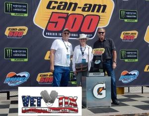 John V. attended Can-am 500 at Pir - Monster Energy NASCAR Cup Series on Nov 12th 2017 via VetTix