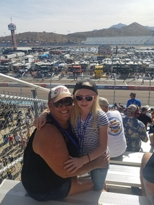Michelle attended Can-am 500 at Pir - Monster Energy NASCAR Cup Series on Nov 12th 2017 via VetTix