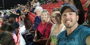 Russ attended Phoenix Rising FC vs. Colorado Springs Switchbacks FC - USL on Jul 15th 2017 via VetTix