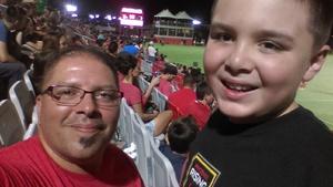 Sergio attended Phoenix Rising FC vs. Colorado Springs Switchbacks FC - USL on Jul 15th 2017 via VetTix