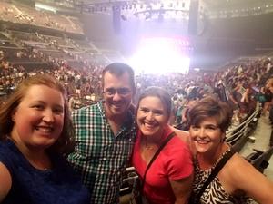 Joshua attended Queen + Adam Lambert on Jul 20th 2017 via VetTix
