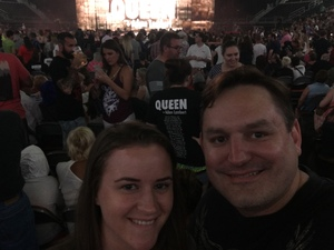 Jonathan attended Queen + Adam Lambert on Jul 20th 2017 via VetTix