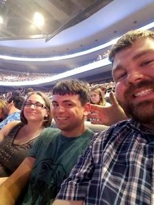 Kenneth attended Queen + Adam Lambert on Jul 20th 2017 via VetTix
