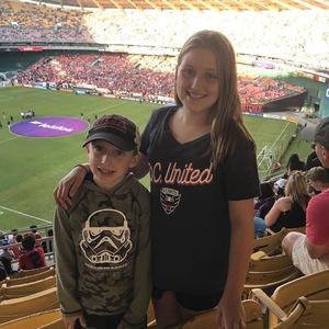 Christopher attended DC United vs. New York Red Bulls - Final Regular Season Home Game - MLS on Oct 22nd 2017 via VetTix