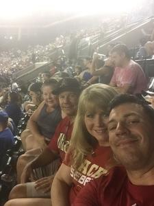 Rob attended Arizona Diamondbacks vs. Los Angeles Dodgers - MLB on Aug 10th 2017 via VetTix