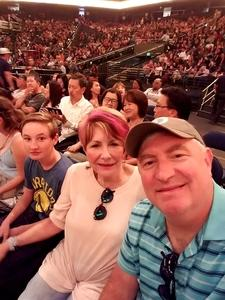 Christopher attended Lionel Richie: All the Hits With Very Special Guest Mariah Carey on Jul 21st 2017 via VetTix