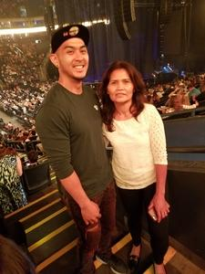 Jeffrey attended Lionel Richie: All the Hits With Very Special Guest Mariah Carey on Jul 21st 2017 via VetTix
