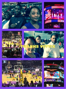 robin attended Los Angeles Sparks vs. New York Liberty - WNBA on Aug 4th 2017 via VetTix