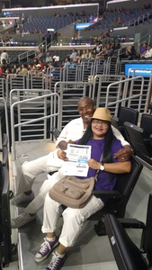 James Petty attended Los Angeles Sparks vs. New York Liberty - WNBA on Aug 4th 2017 via VetTix