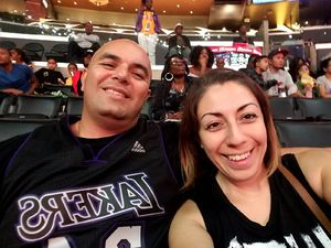 Carlos attended Los Angeles Sparks vs. New York Liberty - WNBA on Aug 4th 2017 via VetTix