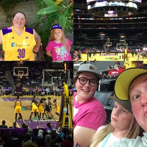 Gretchen attended Los Angeles Sparks vs. New York Liberty - WNBA on Aug 4th 2017 via VetTix