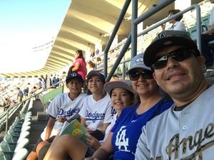 Oscar attended Los Angeles Dodgers vs. Minnesota Twins - MLB on Jul 25th 2017 via VetTix