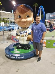 Alejandro attended Los Angeles Dodgers vs. Minnesota Twins - MLB on Jul 25th 2017 via VetTix