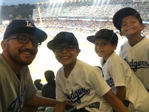 Lorenzo attended Los Angeles Dodgers vs. Minnesota Twins - MLB on Jul 25th 2017 via VetTix