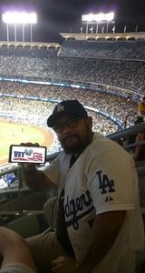 Francisco attended Los Angeles Dodgers vs. Minnesota Twins - MLB on Jul 25th 2017 via VetTix