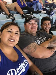 Rene Sandoval attended Los Angeles Dodgers vs. Minnesota Twins - MLB on Jul 25th 2017 via VetTix