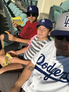 John attended Los Angeles Dodgers vs. Minnesota Twins - MLB on Jul 25th 2017 via VetTix