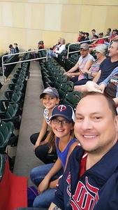 Aaron attended Minnesota Twins vs. Texas Rangers - MLB on Aug 5th 2017 via VetTix