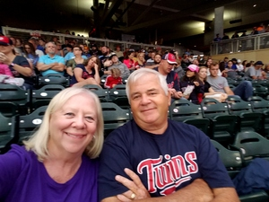 Elmer attended Minnesota Twins vs. Texas Rangers - MLB on Aug 5th 2017 via VetTix