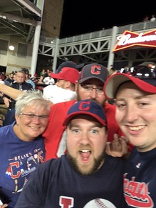 Bradley attended Cleveland Indians vs. Colorado Rockies - MLB on Aug 8th 2017 via VetTix