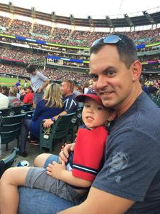 Tom attended Cleveland Indians vs. Colorado Rockies - MLB on Aug 8th 2017 via VetTix