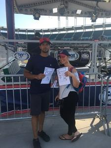 O'Bryan attended Cleveland Indians vs. Colorado Rockies - MLB on Aug 8th 2017 via VetTix