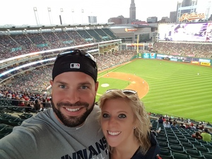 Chad attended Cleveland Indians vs. Colorado Rockies - MLB on Aug 8th 2017 via VetTix