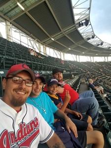 Michael attended Cleveland Indians vs. Boston Red Sox - MLB on Aug 22nd 2017 via VetTix