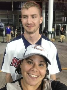 Andrea attended Cleveland Indians vs. Boston Red Sox - MLB on Aug 22nd 2017 via VetTix