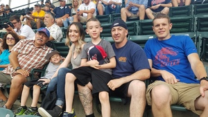 COREY attended Cleveland Indians vs. Boston Red Sox - MLB on Aug 22nd 2017 via VetTix