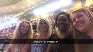 Kristen attended John Mayer - the Search for Everything on Jul 19th 2017 via VetTix