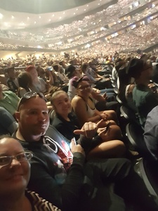 taylor attended John Mayer - the Search for Everything on Jul 19th 2017 via VetTix