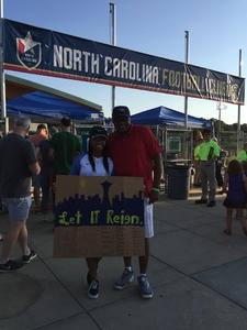 Lonnie Williams attended North Carolina Courage vs. Seattle Reign - National Womens Soccer League on Aug 5th 2017 via VetTix