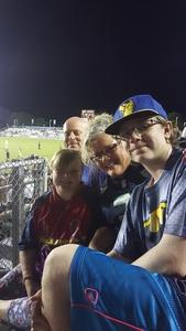 Raymond attended North Carolina Courage vs. Seattle Reign - National Womens Soccer League on Aug 5th 2017 via VetTix