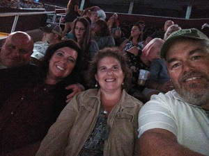 Jim attended Soul2Soul Tour With Tim McGraw and Faith Hill on Aug 17th 2017 via VetTix