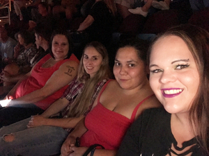 Sonya attended Soul2Soul Tour With Tim McGraw and Faith Hill on Aug 17th 2017 via VetTix