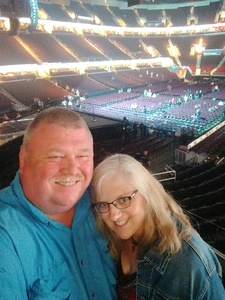 Durward attended Soul2Soul Tour With Tim McGraw and Faith Hill on Aug 17th 2017 via VetTix