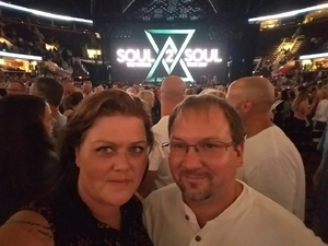 Kris attended Soul2Soul Tour With Tim McGraw and Faith Hill on Aug 17th 2017 via VetTix