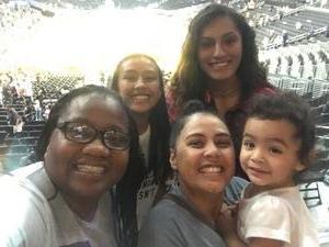Tiffani attended Los Angeles Sparks vs. Minnesota Lynx - WNBA on Aug 27th 2017 via VetTix