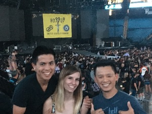 John attended Avenged Sevenfold: the Stage World Tour With a Day to Remember - Live in Concert on Jul 31st 2017 via VetTix