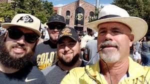 Derek attended Colorado Buffaloes vs. Texas State - NCAA Football on Sep 9th 2017 via VetTix