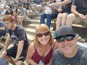 William attended Colorado Buffaloes vs. Texas State - NCAA Football on Sep 9th 2017 via VetTix