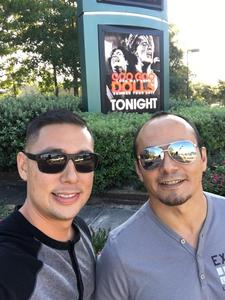 Eleazar attended Goo Goo Dolls: Long Way Home Summer Tour With Phillip Phillips - Reserved Seats on Sep 7th 2017 via VetTix