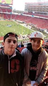 David attended Pac-12 Football Championship - Stanford Cardinal vs. Southern California Trojans on Dec 1st 2017 via VetTix