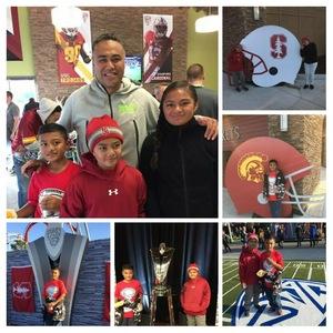 Nanise attended Pac-12 Football Championship - Stanford Cardinal vs. Southern California Trojans on Dec 1st 2017 via VetTix