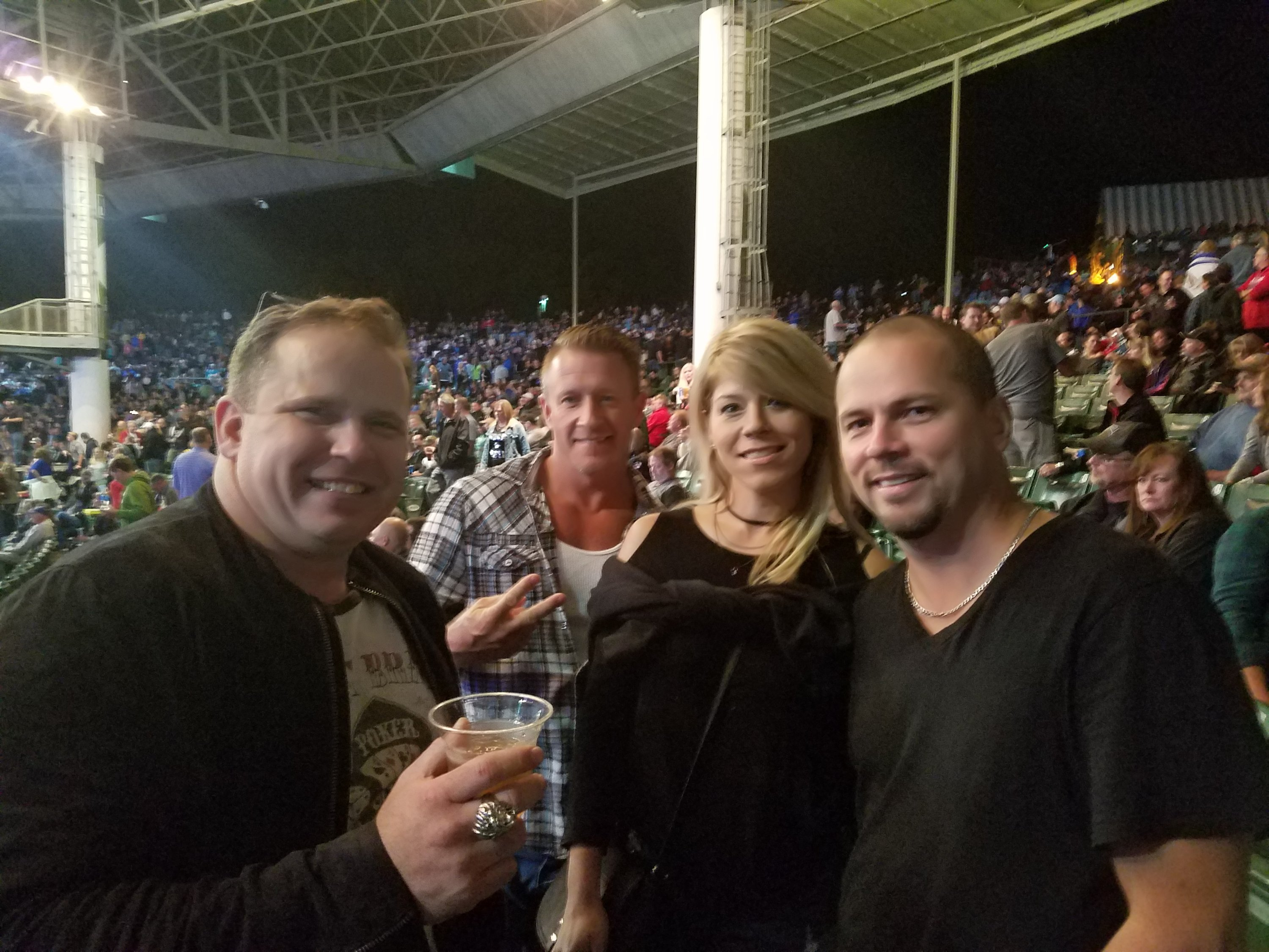 Thank you messages to veteran tickets foundation donors thomas attended sammy hagar and the circle with special guest collective soul and andrew hagar kristyandbryce Choice Image