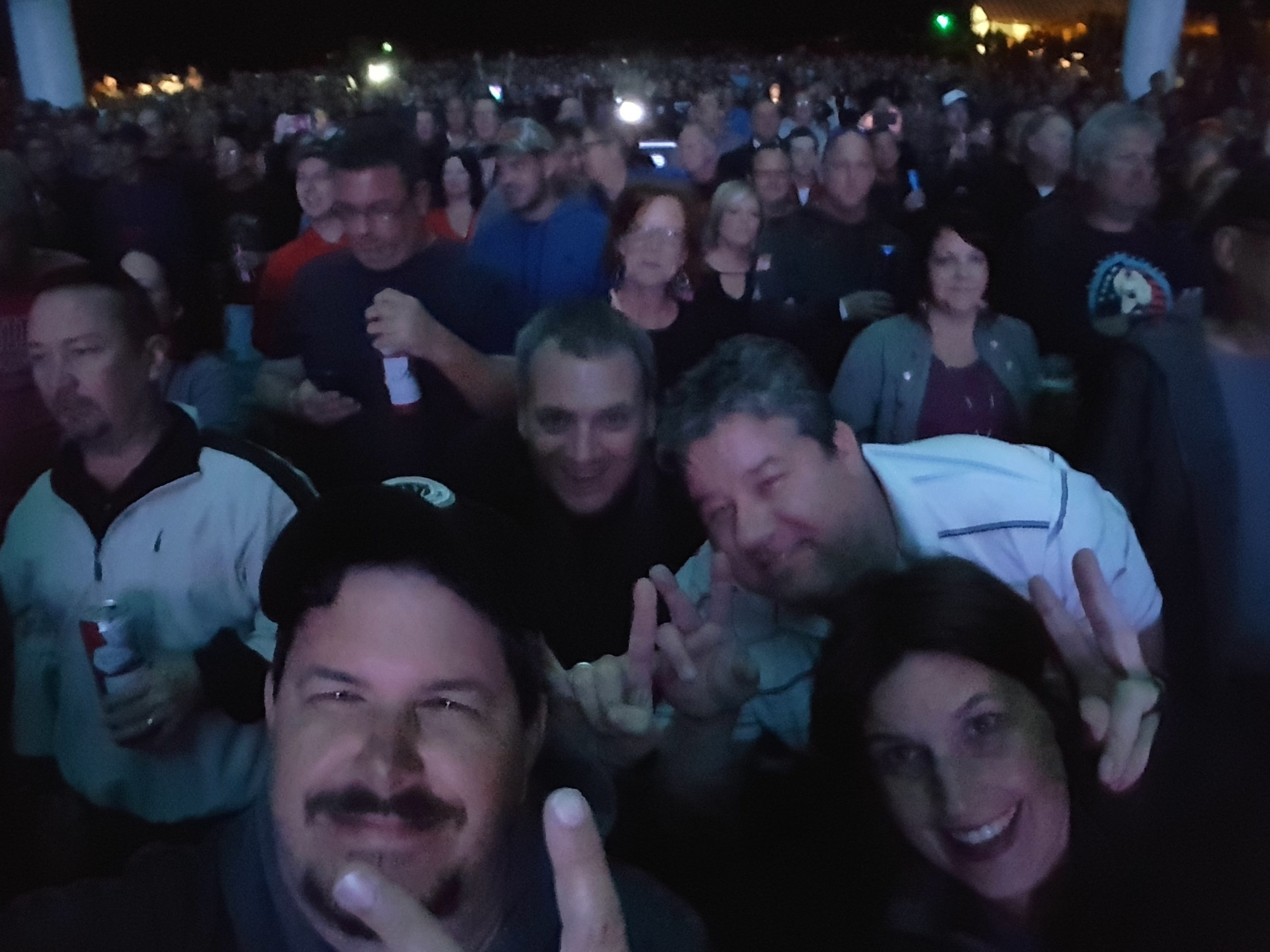 Thank you messages to veteran tickets foundation donors steve attended sammy hagar and the circle with special guest collective soul and andrew hagar kristyandbryce Choice Image