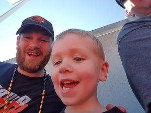 Nicholas attended Oregon State Beavers vs. Portland State - NCAA Football on Sep 2nd 2017 via VetTix