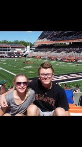 Jason attended Oregon State Beavers vs. Portland State - NCAA Football on Sep 2nd 2017 via VetTix