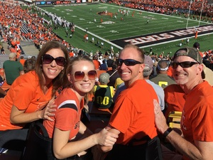 ChrisW attended Oregon State Beavers vs. Portland State - NCAA Football on Sep 2nd 2017 via VetTix